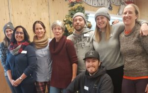 A team of outreach staff from Whistler Community Services Society