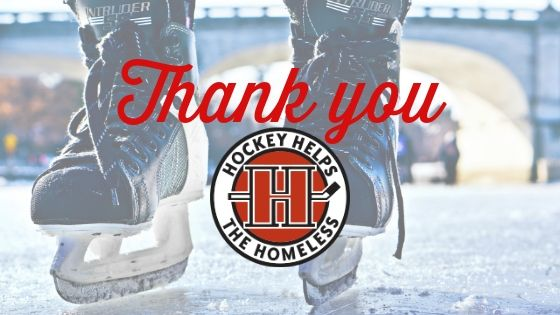 Playing with Purpose: Hockey Helps the Homeless gives $10,000 to Zero Ceiling