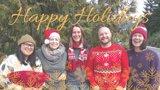 HAPPY HOLIDAYS FROM THE ZERO CEILING TEAM