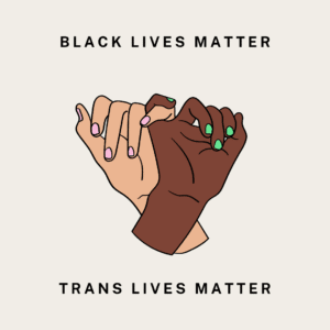 Black Lives Matter and Trans Lives Matter. Period.